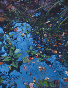 Todd Doney - Pond Oct 12th - oil on linen - 48 x 36