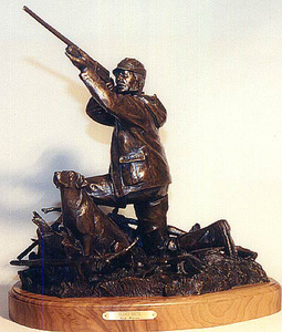 Cody Houston - Blind Date - bronze - 16 x 16