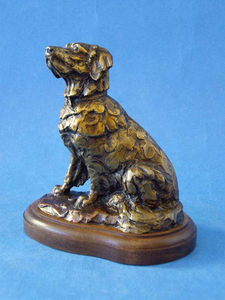 Ott Jones - Golden Times - bronze - 6.5 x 6 x 4