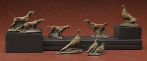 "Walter Matia - A Short History of Sport - bronze - 2-3"" set of 6"
