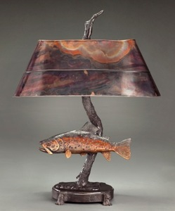 George Northup - Caddis Hatch - bronze - 29 x 14 x 9