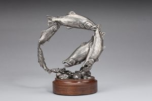 Bryce Pettit - The Journey - bronze - 6 x 6 x 2