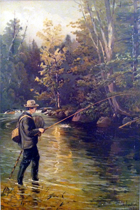 Bass Fishing - Henry Sandham