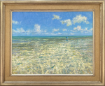 Mike Stidham - Perfect Day on the Water - oil on canvas - 24 x 30