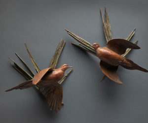 Matia Mourning Dove Wall Sconces