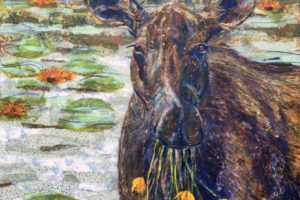 Laura Adams - Madeline the Moose