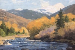 Ralph Oberg On the Eagle River With Dan