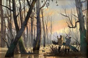 Brett Smith - Mallards in Timber