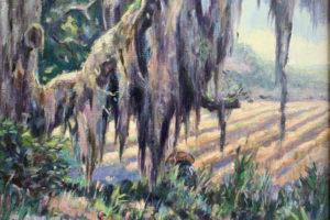 Peggy Watkins - Turkeys and Rice Field