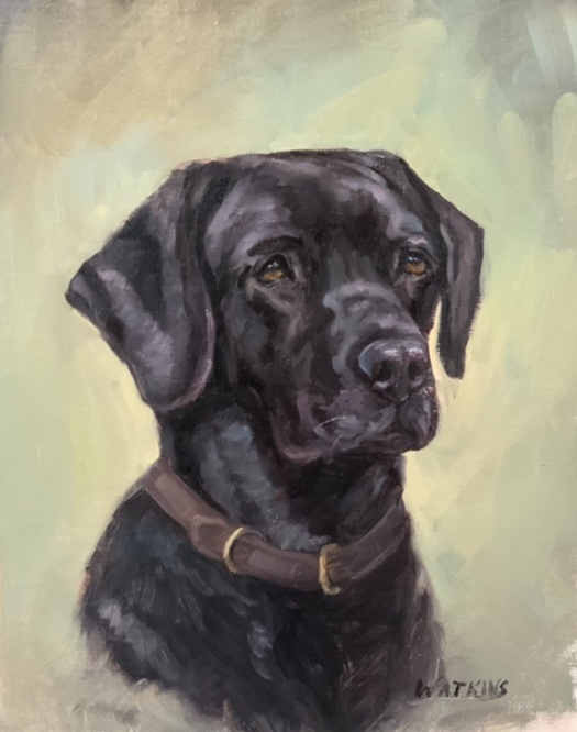 Peggy Watkins - Black Lab